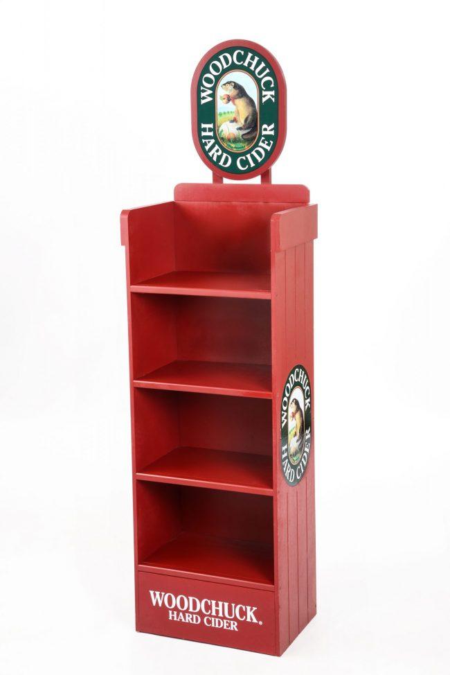 Standing Wood Display