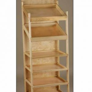 Large Capacity Slant Shelf Display