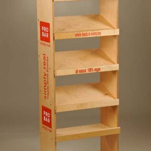Off Shelf Display Rack for Food and Snacks