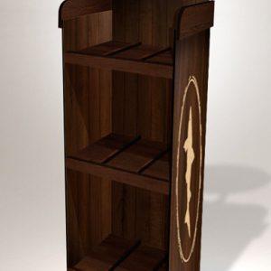 Wood Display for Coffee or Food